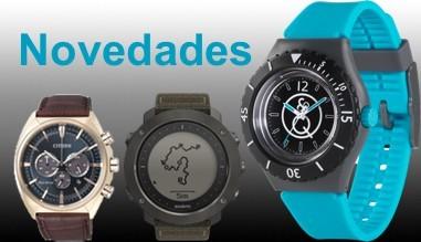Nuevos relojes y productos de relojería