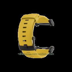 Core Yellow Crush Rubber Strap