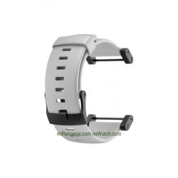 Core Crush White Rubber Strap