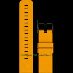 Traverse Amber Silicone Strap