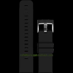 Traverse Black Silicone strap