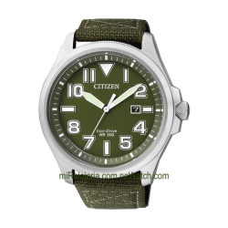 Eco-Drive OF Military 200 mt.