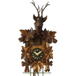 Hunting model cuckoo clock...