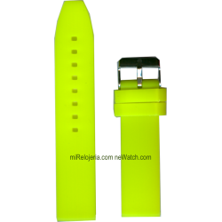 Correa de Silicona Lisa 20 mm