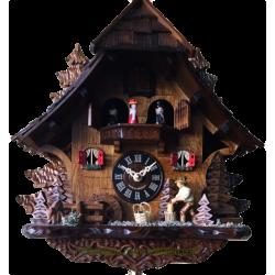 Woodcutter Chalet Cuckoo Clock