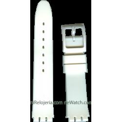 Correa de Silicona para Swatch