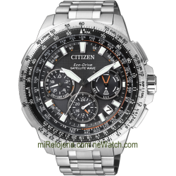 Eco-Drive Satellite Wave F900 Crono Alarma
