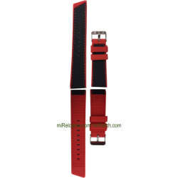 Reversible Silicone Flat Strap 24 mm.