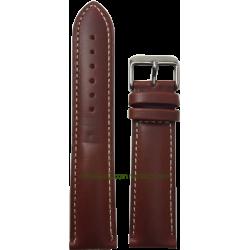 Genuine Bull Calf leather strap 24 mm.