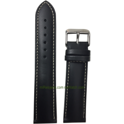 Genuine Bull Calf leather strap 22 mm.