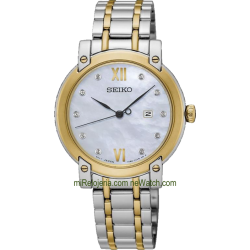 Two tone Stainless steel Ladies with diamonds