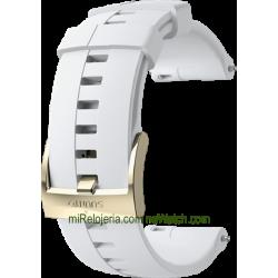 Correa de Silicona para Spartan Sport Wrist HR White Gold