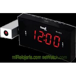 Radio Despertador FM con proyector