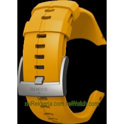 Spartan Trainer Wrist HR Amber Silicone Strap