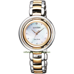 Eco Drive L con diamante