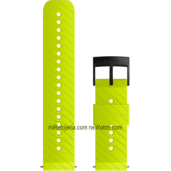 ATHLETIC 3 Silicone strap Lime