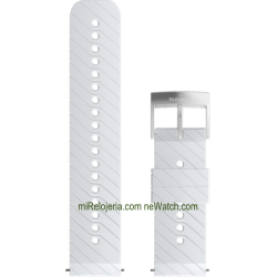 ATHLETIC 3 Silicone strap White