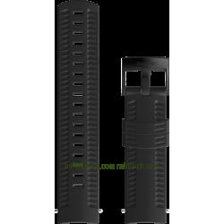 ATHLETIC 2 Silicone strap Black
