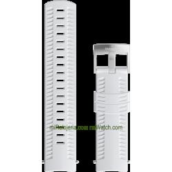 ATHLETIC 2 Silicone strap White