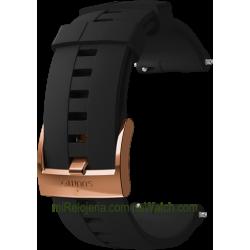 EXPLORE 4 Silicone strap Black/Copper