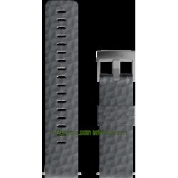 EXPLORE 1 Silicone strap Graphite Gray