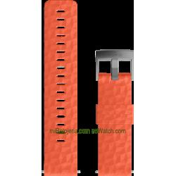 EXPLORE 1 Silicone strap Coral Gray