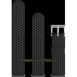 Correa de silicona Atletic 1 Negro