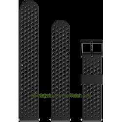 Atletic 1 Silicone strap Black
