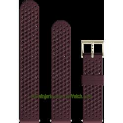 Correa de silicona Atletic 1 Burgundy