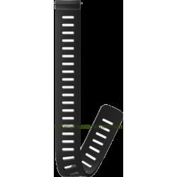 24mm Dive 1 Silicone Extension Strap White