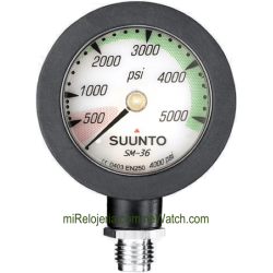 Manómetro para botellas Suunto SM-36 4000