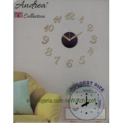 Adhesive Wall Clock