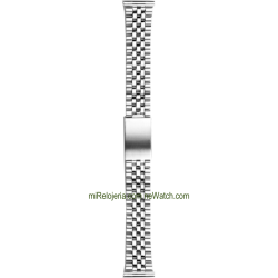 Curved Standard Stainless steel Bracelet 20 mm.
