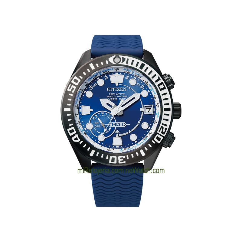 Eco-Drive Satellite Wave GPS Diver