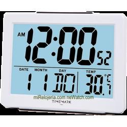 Despertador con termómetro...