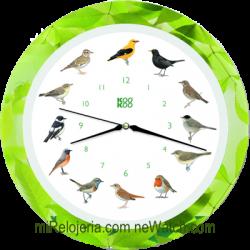 Pared canto pájaros