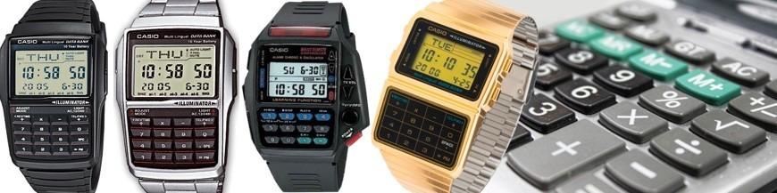 Relojes calculadora